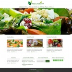Healthy Eating - Diets and Nutrition - PLR Website Offer