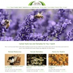 Herbs for Health - PLR Website Offer