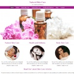 Natural Skin Care - PLR Website Offer
