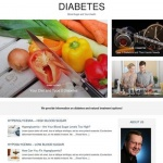 Diabetes and Blood Sugar - PLR Website Offer
