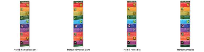 Herbal Remedies PLR Infographics