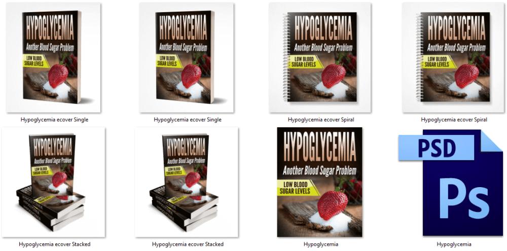 Hyperglycemia eCover Graphics PLR