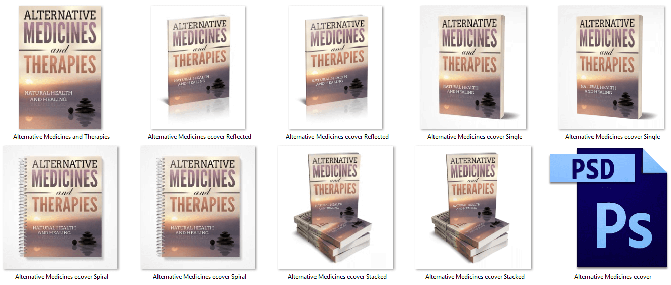Alternative Medicines and Therapies Report Cover PLR