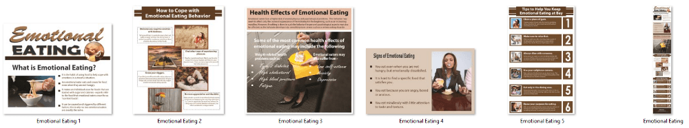 Emotional Eating PLR Infographics