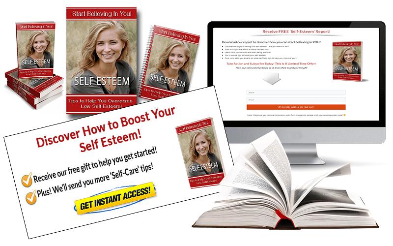 Self Esteem PLR Package