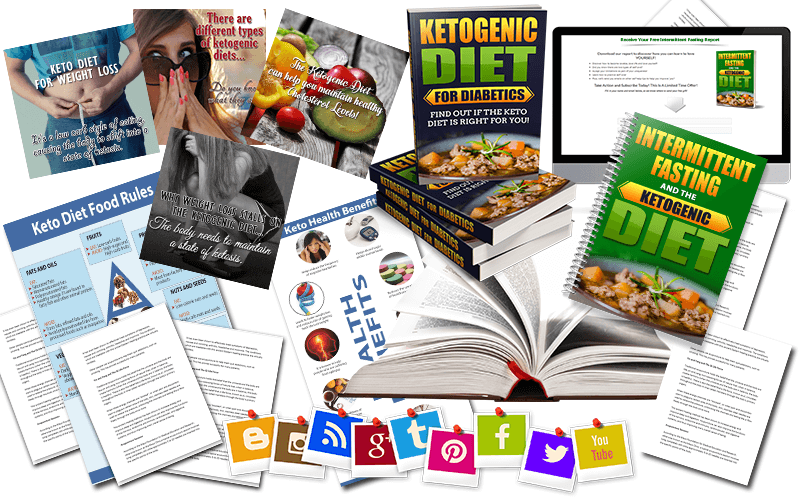 Ketogenic Diet PLR and Intermittent Fasting PLR