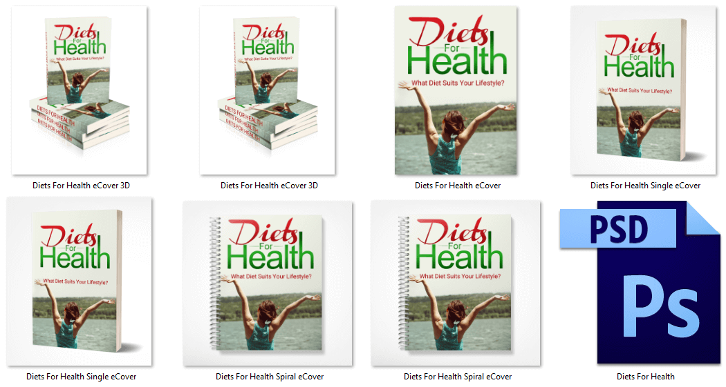 Diets for Health PLR Report