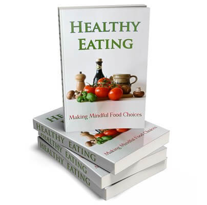 Healthy Eating PLR eBook Cover