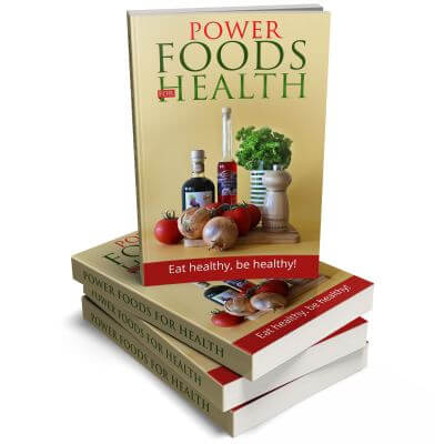 Power Foods for Health PLR eCover
