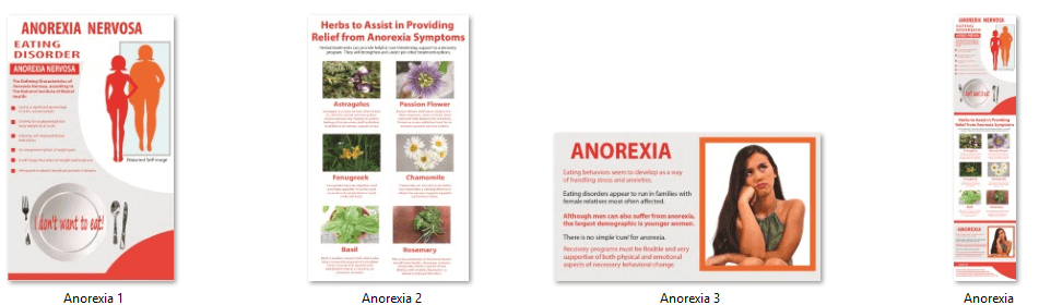 Anorexia Infographic PLR