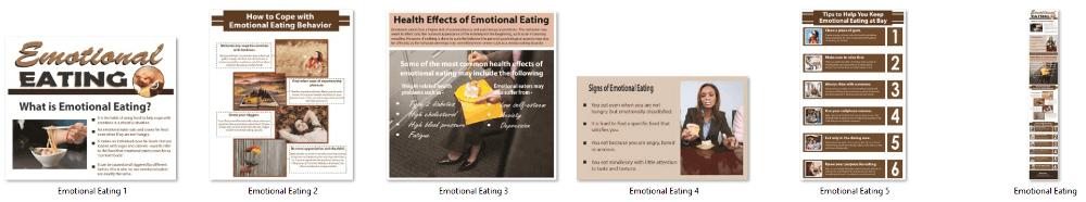 Emotional Eating PLR Infographics