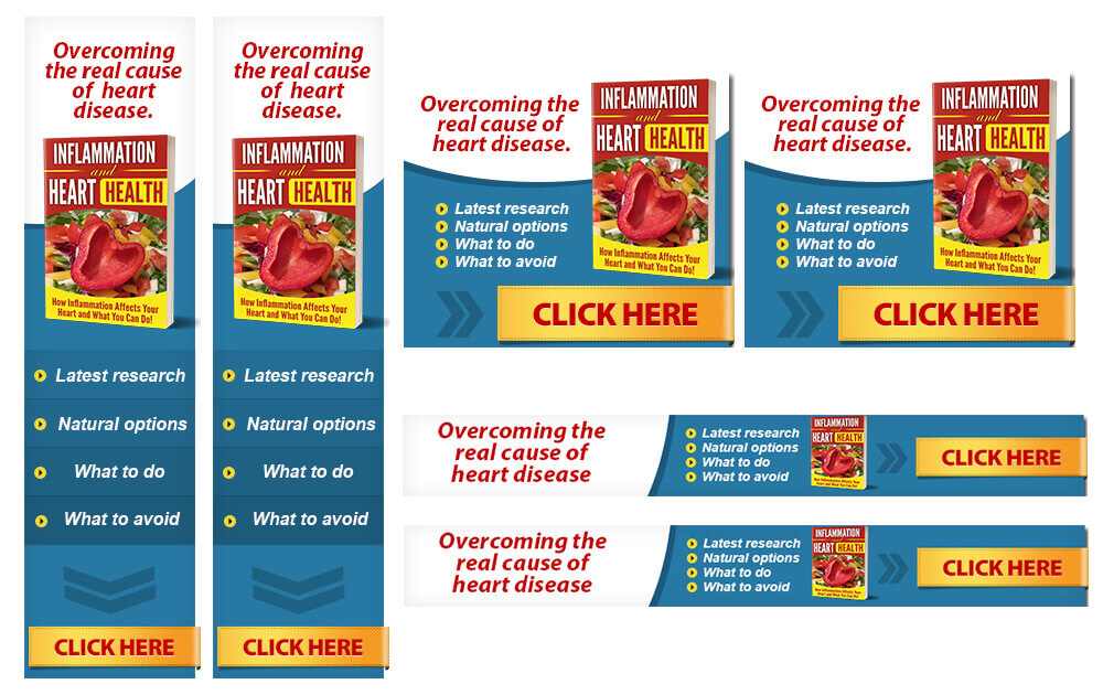 Inflammation and Heart Health PLR Banners