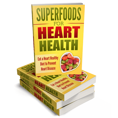 Superfoods for Heart Health PLR eBook Cover