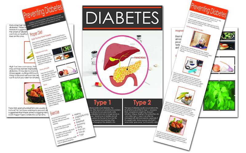 3 Diabetes Infographics