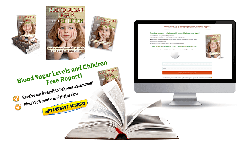 Blood Sugar Levels and Children PLR Mockup