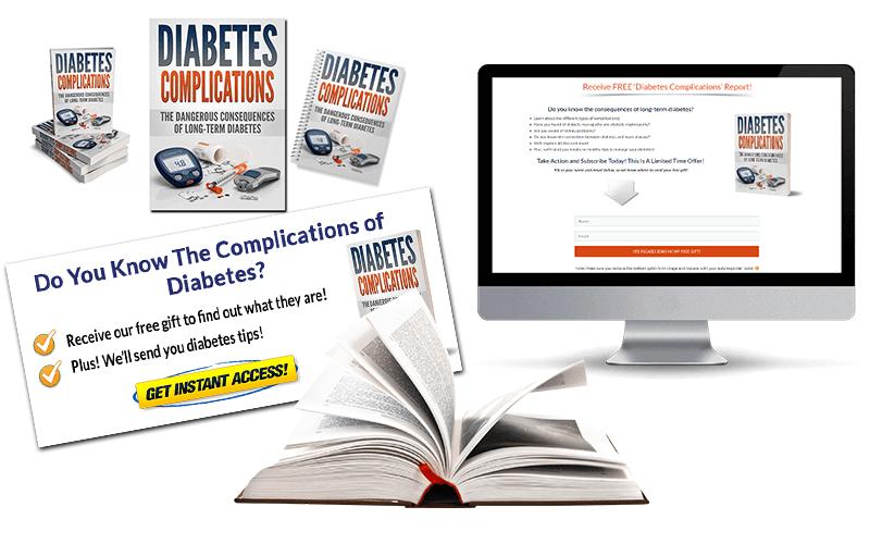 Diabetes Complications PLR Package