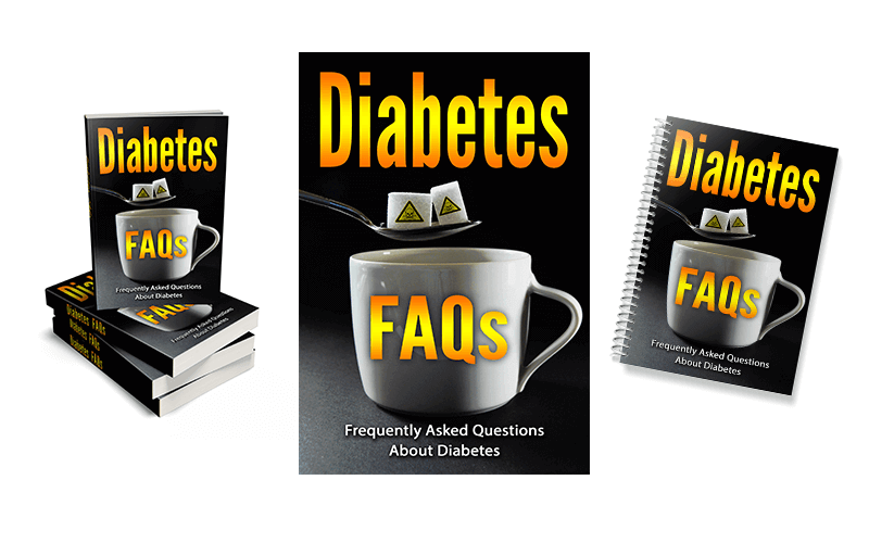 Diabetes FAQs PLR Report eCovers