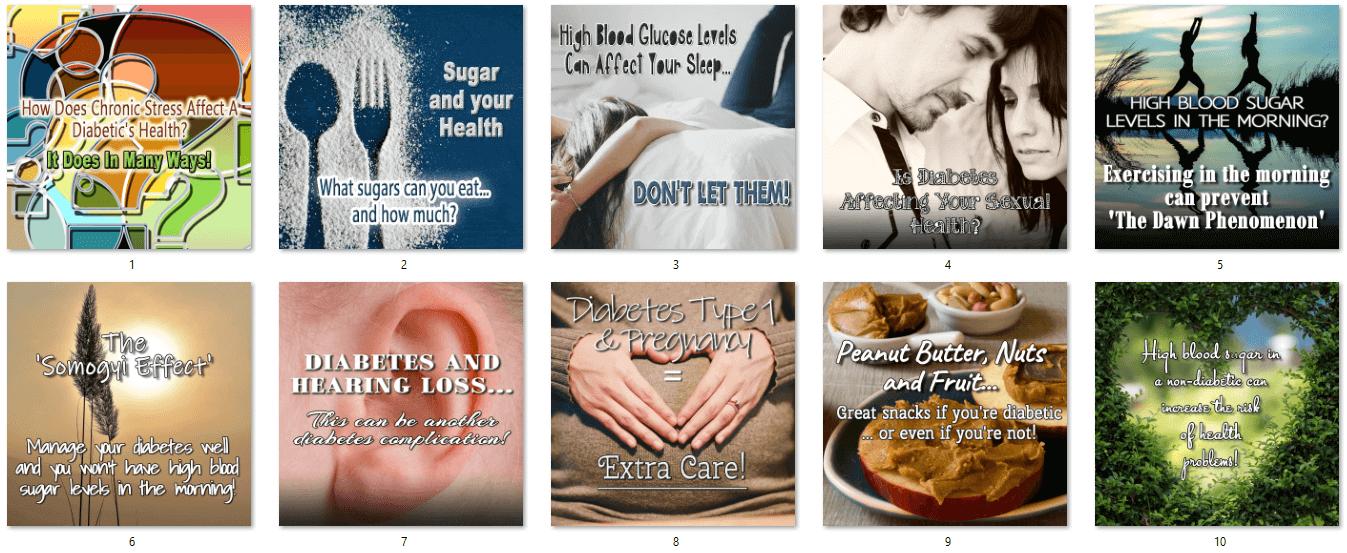 Diabetes PLR Posters