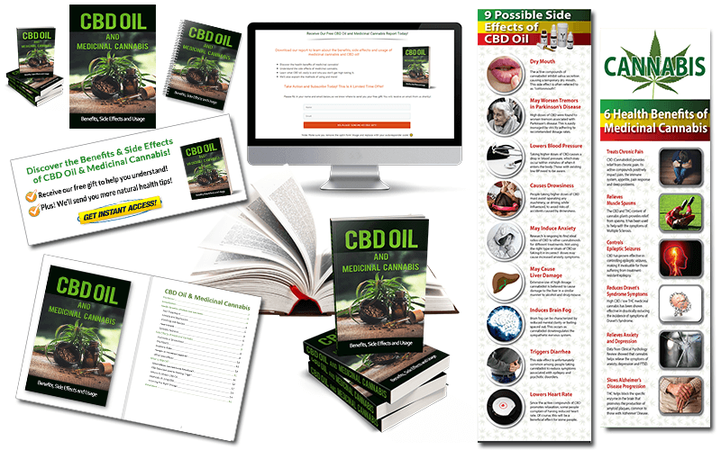 CBD Oil and Medicinal Cannabis PLR Pack