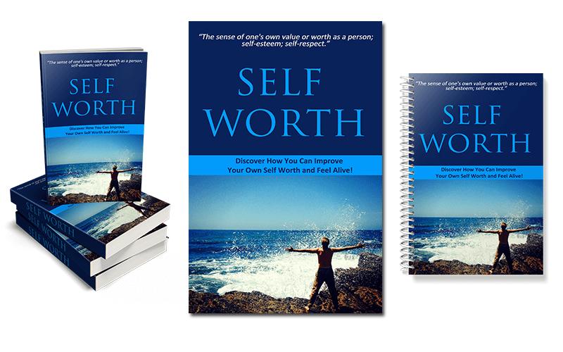 Self Worth PLR eCover Graphics