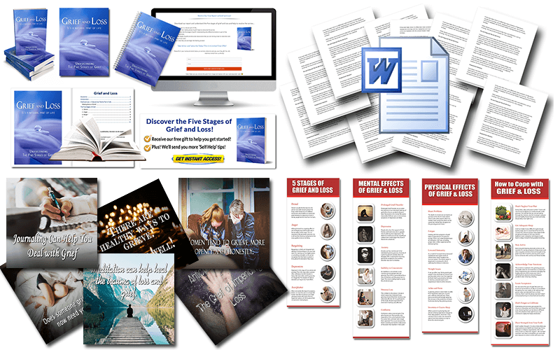 Grief and Loss Bonus PLR Package