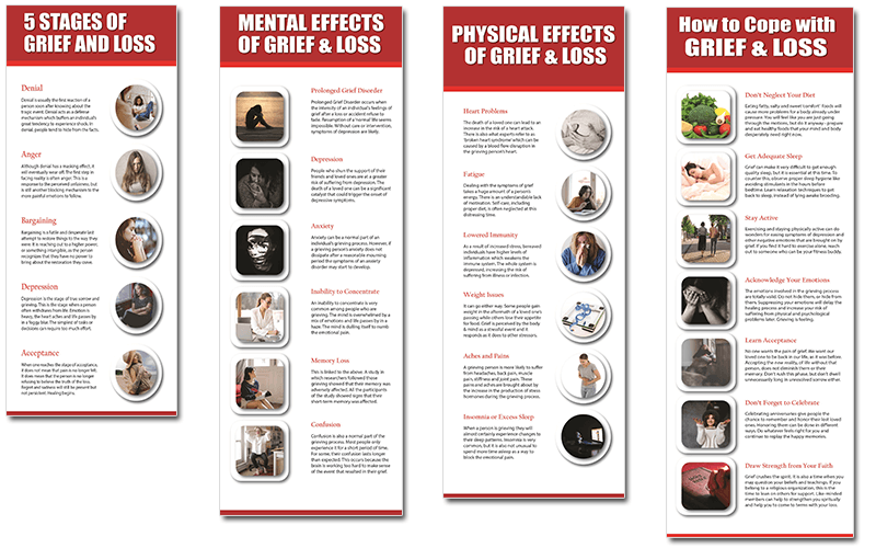 Grief and Loss PLR Infographic