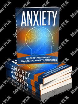 Anxiety PLR eBook Cover