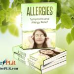 Allergies PLR Articles, Tweets and Bonus eCover