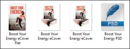 Energy and Fatigue PLR eCover Graphics