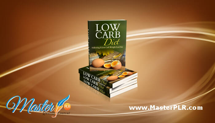 Low Carb Diet PLR Articles, Infographic & More