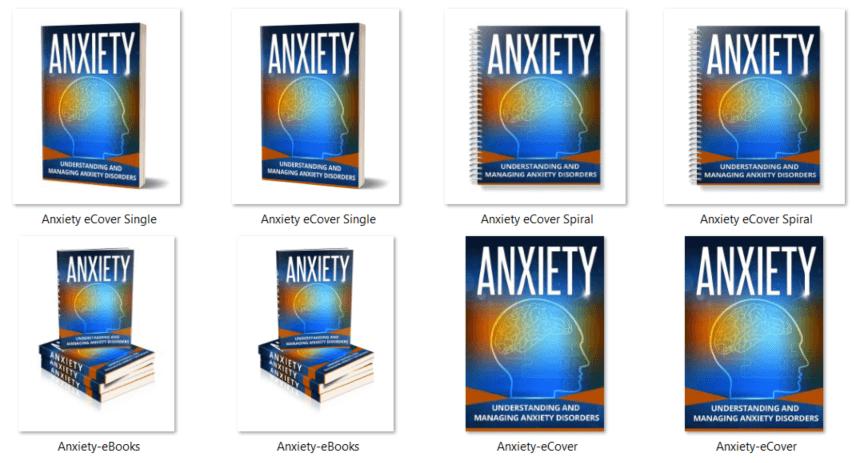 Anxiety PLR eBooks