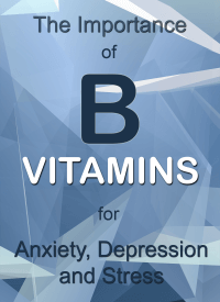 B Vitamins for Anxiety, Depression and Stress PLR