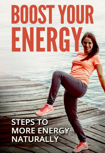Boost Your Energy PLR eCover Flat