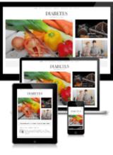 Diabetes & Blood Sugar PLR + Website Image