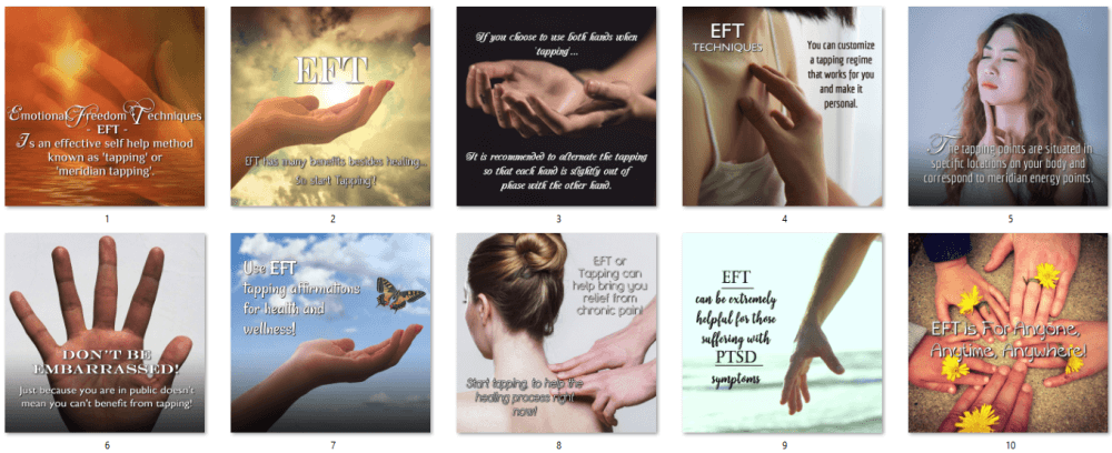 EFT Social Posters