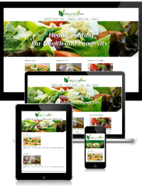 Healthy Eating Website