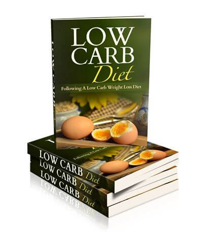 Low Carb Diet PLR eCover Graphic