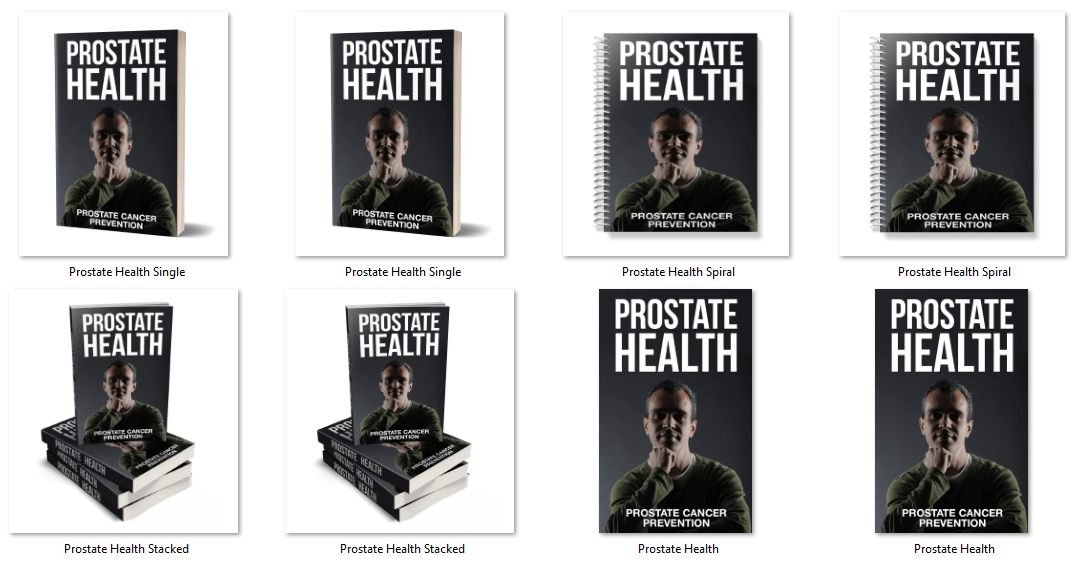 Prostate Health PLR eCovers