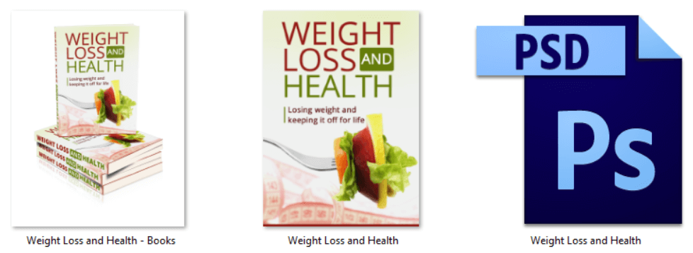 Weight Loss PLR eCovers