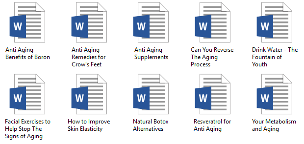 anti aging thesis What is anti aging biology essay aging is the accumulation of changes in a person over time ageing in humans refers to a multidimensional process of physical, psychological, and social.