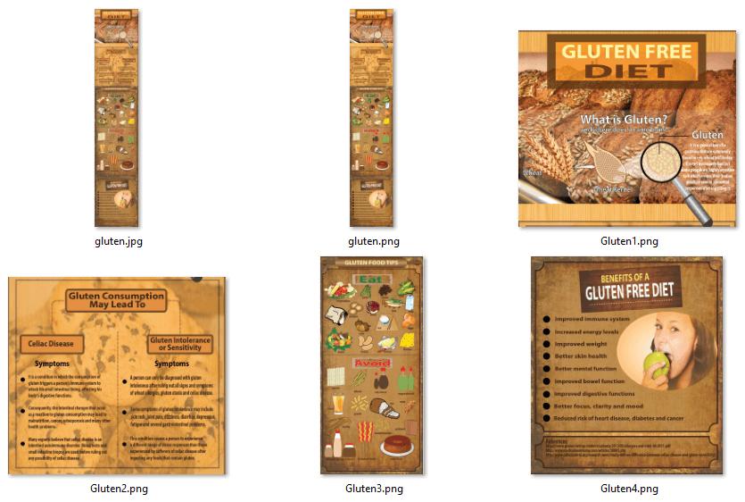 Gluten Free Infographics