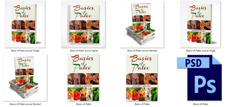Paleo Diet eBook Covers PLR