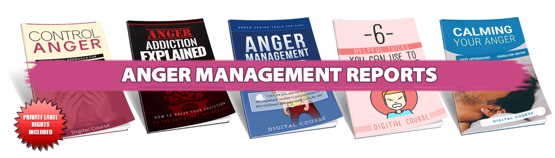 Anger Management PLR Reports