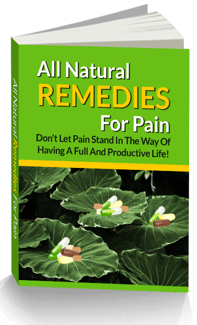 Natural Remedies for Pain PLR eBook