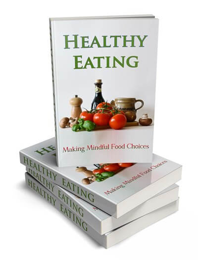 Healthy Eating Stacked eBook Cover PLR