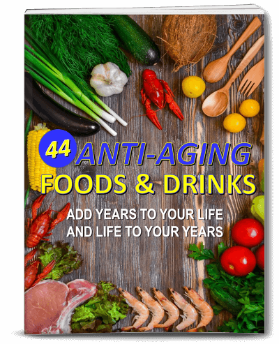 Anti Aging Foods and Drinks PLR