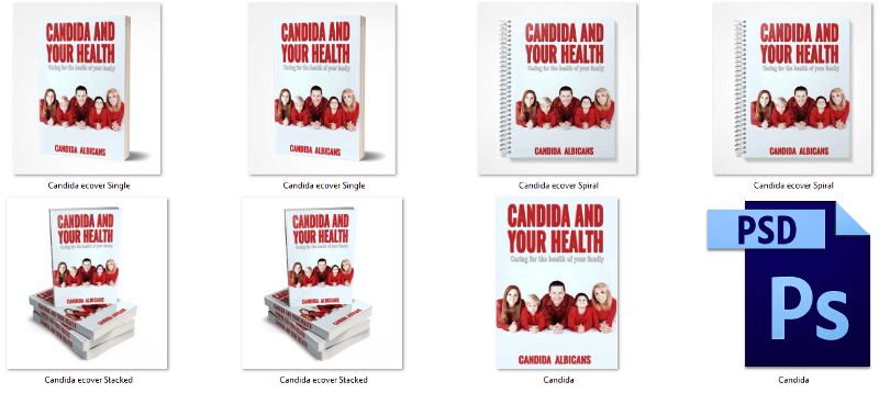 Candida Albicans PLR eCover Graphics
