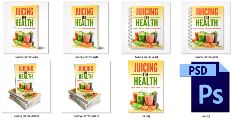 Juicing PLR eCover Graphics