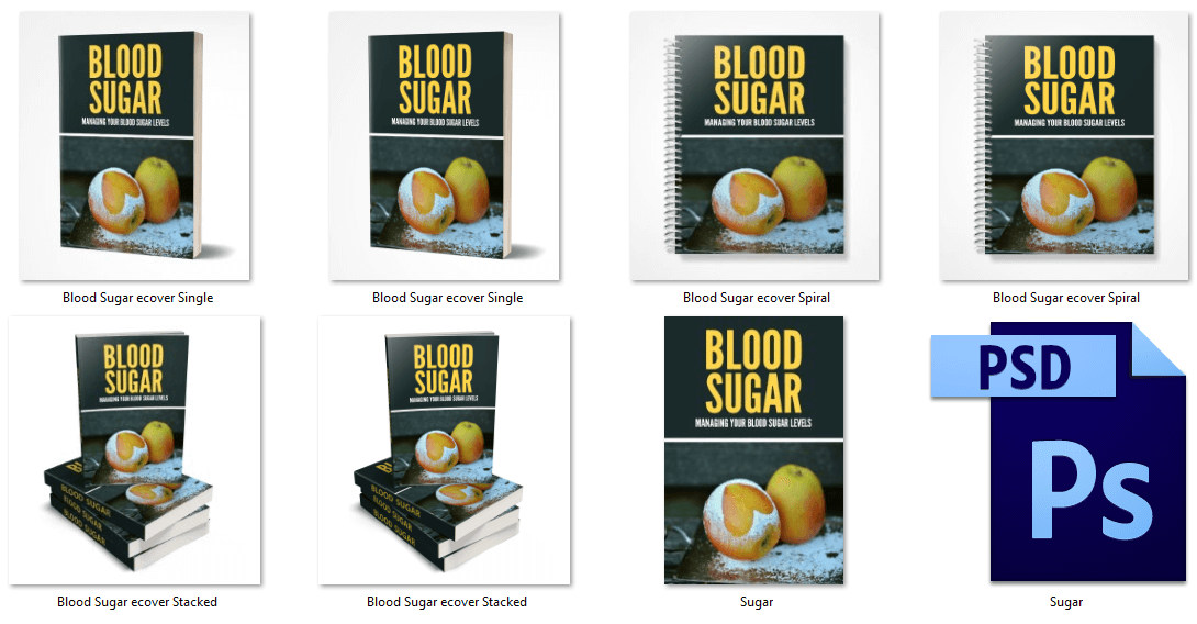 Blood Sugar PLR eCovers