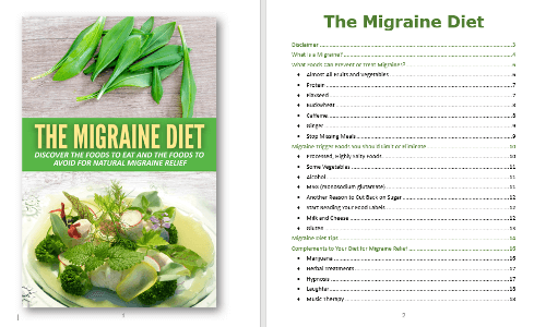 Migraine Diet PLR Report Contents